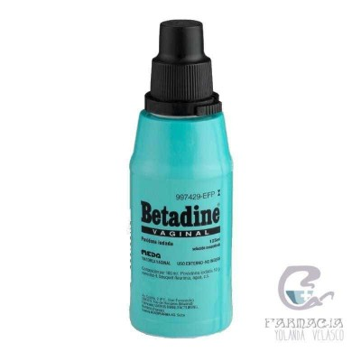 Betadine Vaginal 100 mg/ml Solución Tópica 125 ml