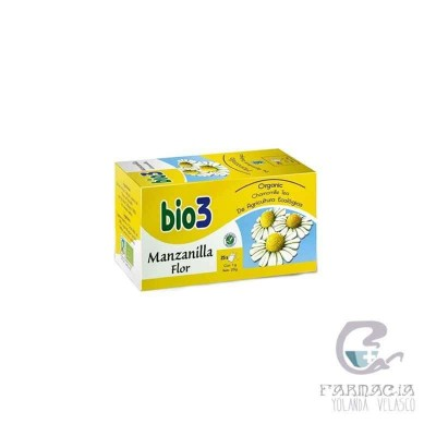 Bio3 Manzanilla Ecológica 25 Filtros
