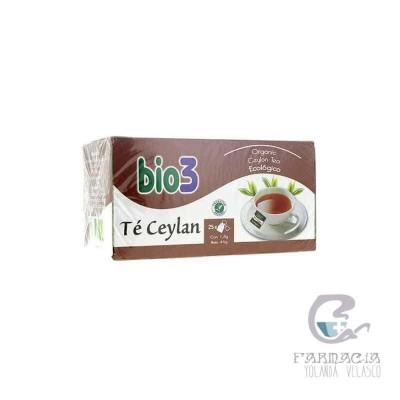 Bio3 Té Ceylan 1.5 gr 25 Filtros
