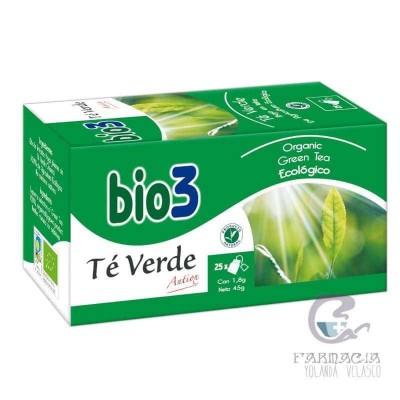 Bio3 Té Verde Ecológico 25 Filtros