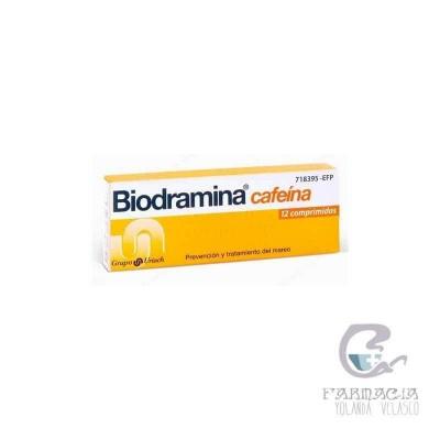 Biodramina Cafeína 12 Comprimidos