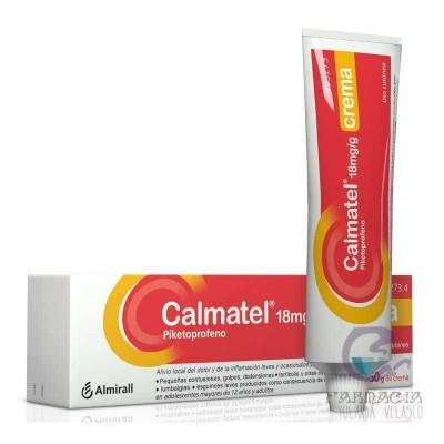 Calmatel 18 mg/g Crema 60 gr