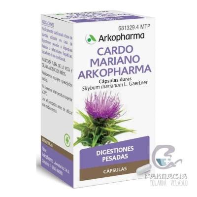 Cardo Mariano Arkopharma 300 mg 50 Cápsulas