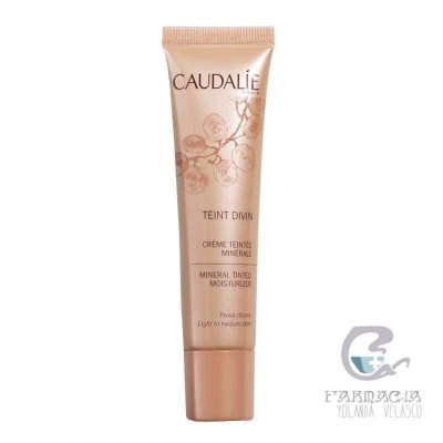 Caudalie Crema Color Mineral Pieles Claras 30 ml