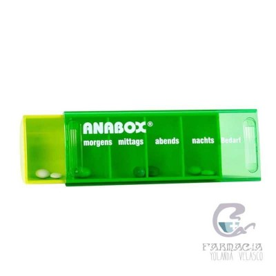 Anabox Pastillero Diario