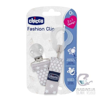 Chicco Fashion Clip Color Gris