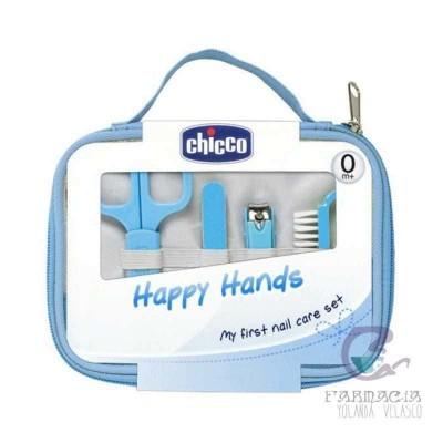 CHICCO SET HAPPY HANDS AZUL