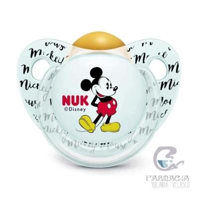Chupete Látex Nukete Anatómico Disney Mickey 0-6 M