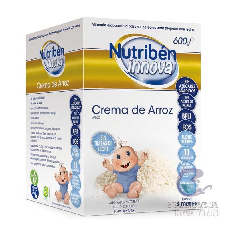Nutiben Innova Crema de Arroz 600 gr