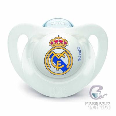 Chupete Silicona Nuk Real Madrid 6-18