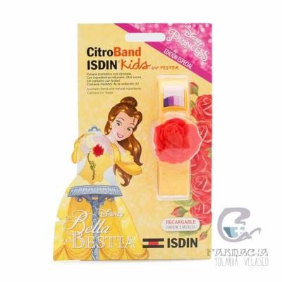 Citroband Isdin Kids+UV Tester Pulsera Edición Especial la Bella y la Bestia