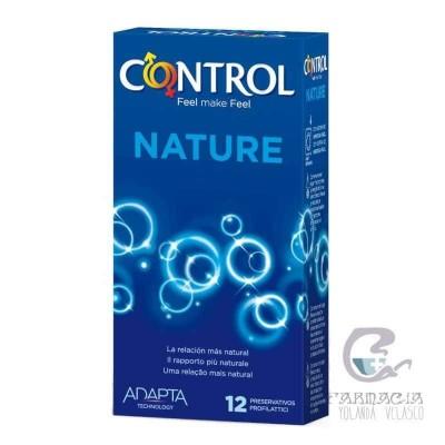 Control Adapta Nature Preservativos 12 Unidades
