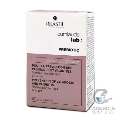 Cumlaude Lab: Prebiotic 10 Óvulos Vaginales