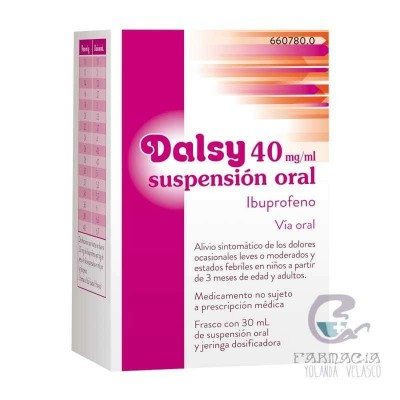 Dalsy 40 mg/ml Suspensión Oral 150 ml