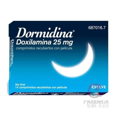 Dormidina 25 mg 14 Comprimidos
