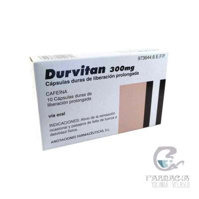 Durvitan Retard 300 mg 10 Cápsulas Liberación Prolongada