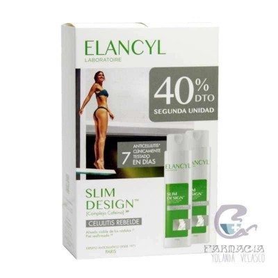 Elancyl Slim Desing Pack Duo 200 ml 2 Unidades