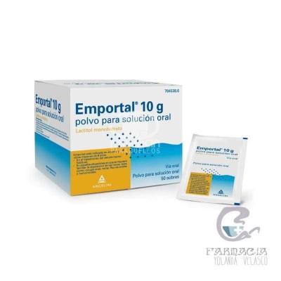 Emportal 10 g 50 Sobres Polvo Solución Oral