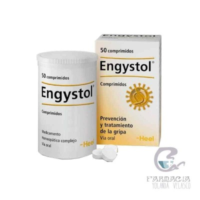 Engystol 50 Comprimidos