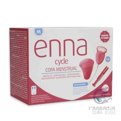 Enna Cycle Copa Menstrual Talla M con Aplicador
