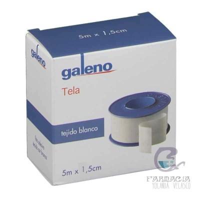 Esperadrapo Galeno Tela Blanco 10 m x 1,5 cm