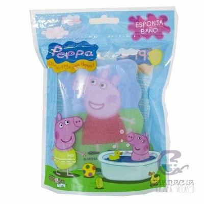 ESPONJA BAÑO PEPPA PIG