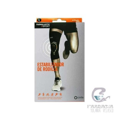 Estabilizador de Rodilla Farmalastic Sport Talla S