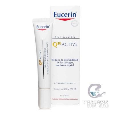 Eucerin Cutis Sensible Q10 Active Contorno de Ojos 15 ml