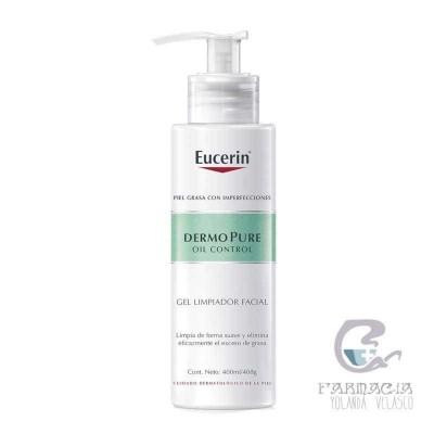 Eucerin Dermopure Oil Control Gel Limpiador Facial 400 ml