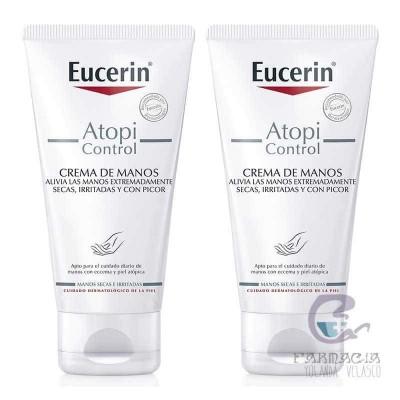 Eucerin Duplo Atopic Crema de Manos