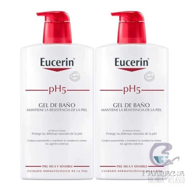 Eucerin Duplo pH5 Gel de Baño 2x1000 ml