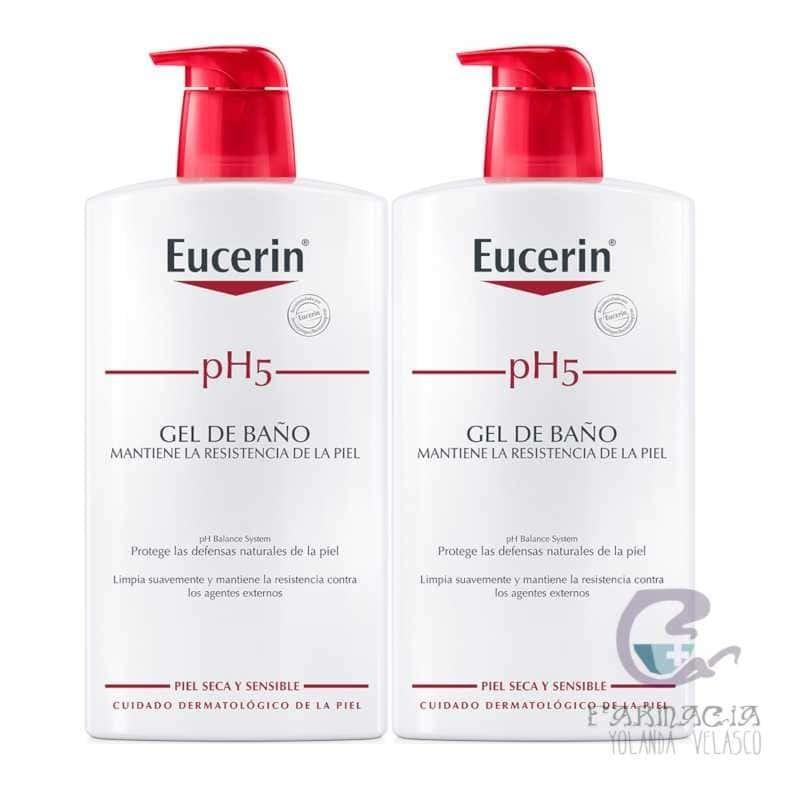 Eucerin Duplo pH5 Gel de Baño 2x1000 ml