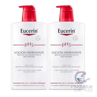 Eucerin Duplo pH5 Loción Hidratante 2x1000 ml