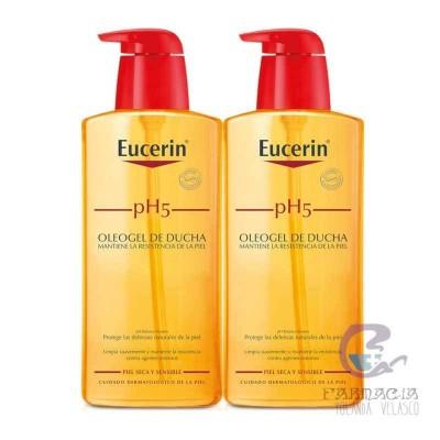 Eucerin Duplo pH5 Oleogel Baño 2x1000 ml