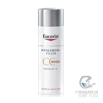 Eucerin Hyaluron CC Cream Medio 50 ml