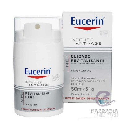 Eucerin Men Intense Antiage Cuidado Refrescante 50 ml