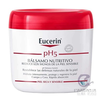Eucerin Piel Sensible pH5 Bálsamo Reparador 450 ml
