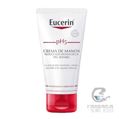 Crema de Manos Eucerin pH5 Piel Sensible 75 ml