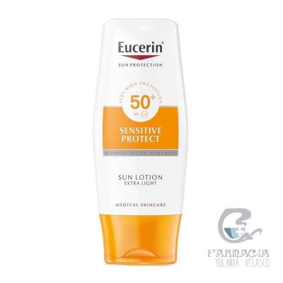 EUCERIN SUN PROTEC 50+ LOCION EXTRA LIGHT 150 ML