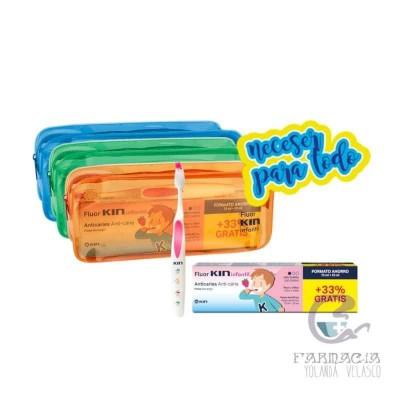 Fluor Kin Infantil Pasta + Cepillo