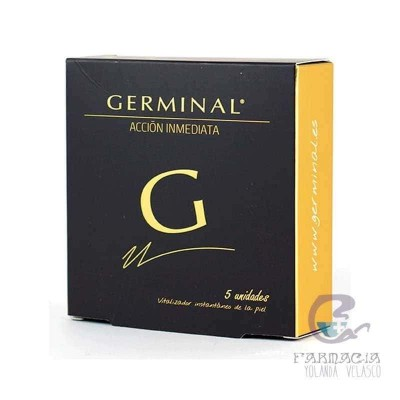 Germinal Acción Inmediata 1,5 ml 5 Ampollas