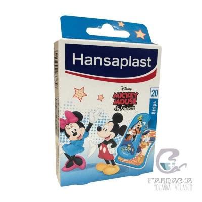 Hansaplast Disney Apósito Adhesivo Mickey Mouse 20 Apósitos