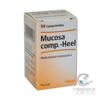 Heel Mucosa 50 Comprimidos