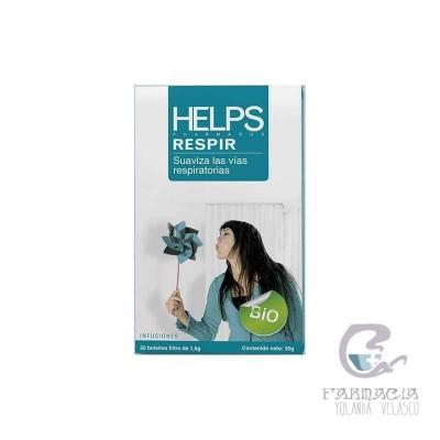 Helps Respir 1,5 g 20 Filtros