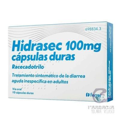 Hidrasec 100 mg 10 Cápsulas Duras