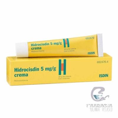 Hidrocisdin 5 MG/G Crema 1 Tubo 30 gr
