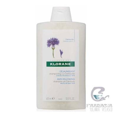 Klorane Champú Centaurea 400 ml