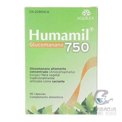 Humanil 750 mg 90 Cápsulas