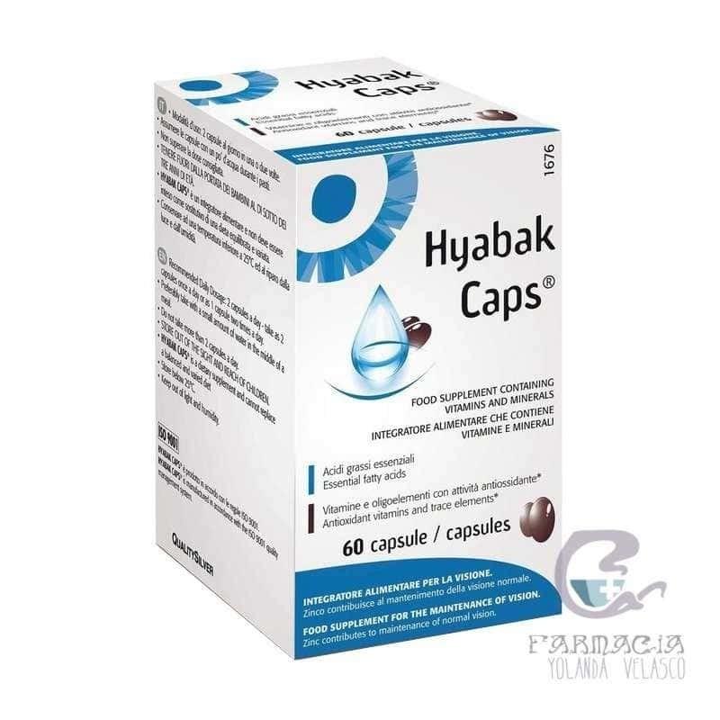 Hyabak Cápsulas 60 Cápsulas
