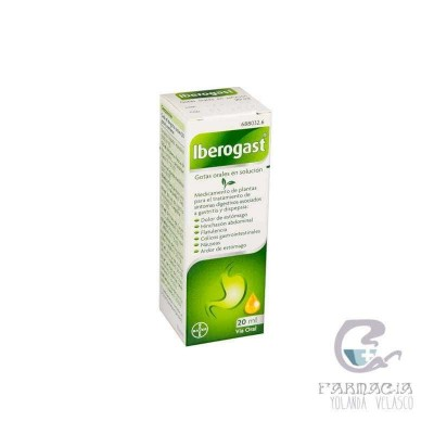 Iberogast Gotas Orales Solución 1 Frasco 20 ml